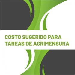 COSTO SUGERIDO PARA TAREAS DE AGRIMENSURA